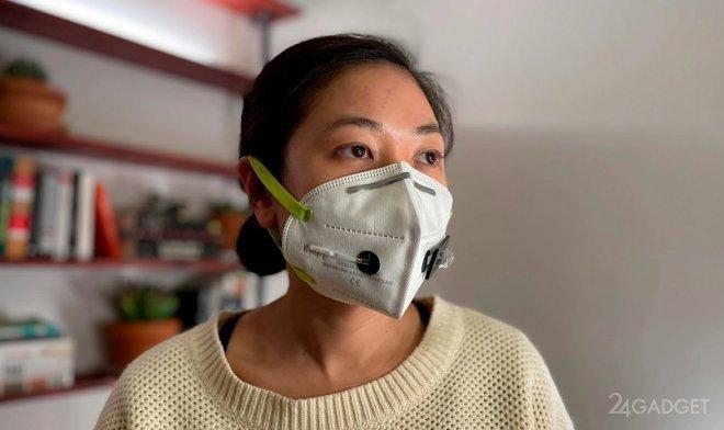 Защитная маска сможет выявить коронавирус во вдыхаемом воздухе (3 фото)