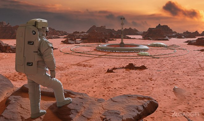 «Роскосмос» изучает возможность доставки на Марс атомной энергетической установки