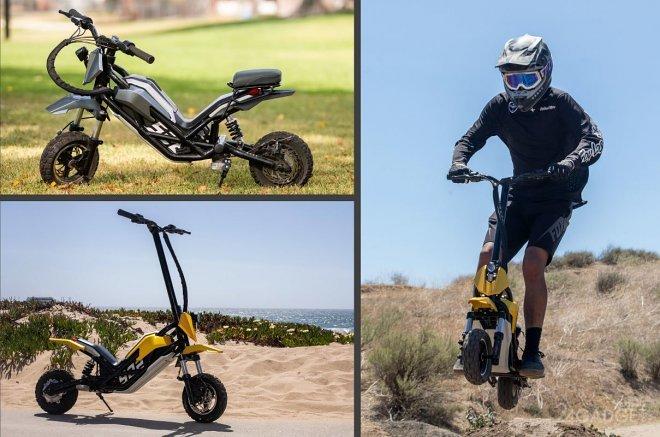 Анонсирован «внедорожный» электрический скутер Splach Transformer (видео)