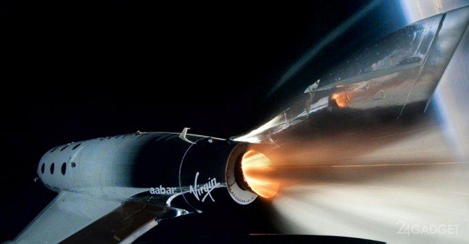 Первый космический туристический полет Virgin Galactic во главе с Ричардом Брэнсоном прошел успешно