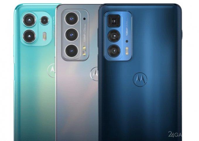 Motorola презентовала линейку смартфонов Edge 20 с 108 Мп камерой