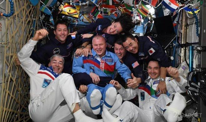На МКС проведена первая Космическая Олимпиада