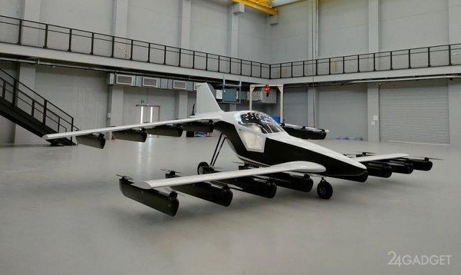 Представлен коммерческий персональный электрический самолет Мк-5