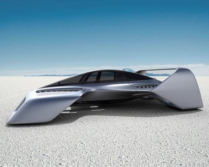 Представлен концепт летающего электромобиля Leo Coupe