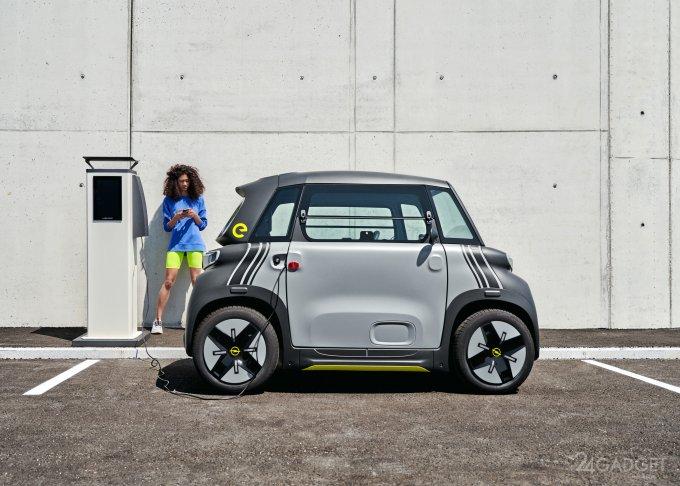 Opel представила компактный городской электрический автомобиль Rocks-e (7 фото)