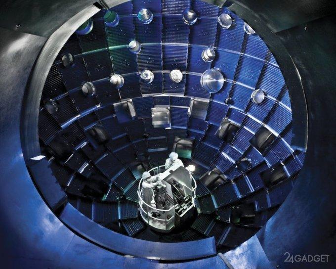 Американцы совершили технологический прорыв в инерциальном термоядерном синтезе
