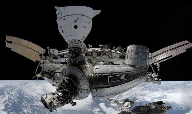 Земляне смогут осуществить виртуальную экскурсию на МКС