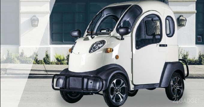 Самый дешевый в мире электромобиль electricKar K5 по цене iPhone