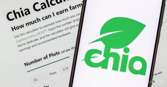 Крах криптовалюты Chia привел к падению цены токена на 90% и распродаже HDD и SSD