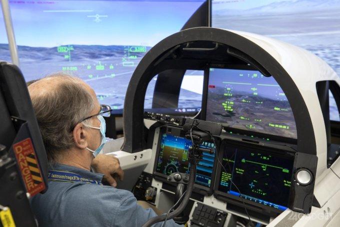 NASA протестировало систему внешнего обзора XVS для сверхзвукового самолета