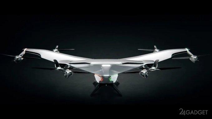 Представлен NextGen, «самолет Бэтмена» от Airbus