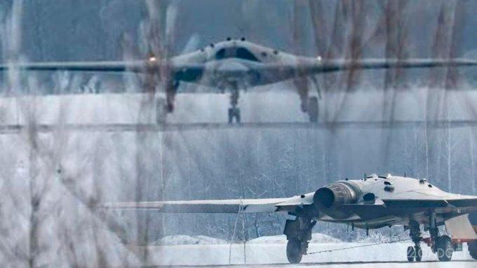 Главное достоинство российского ударного дрона Охотник представлено на видео